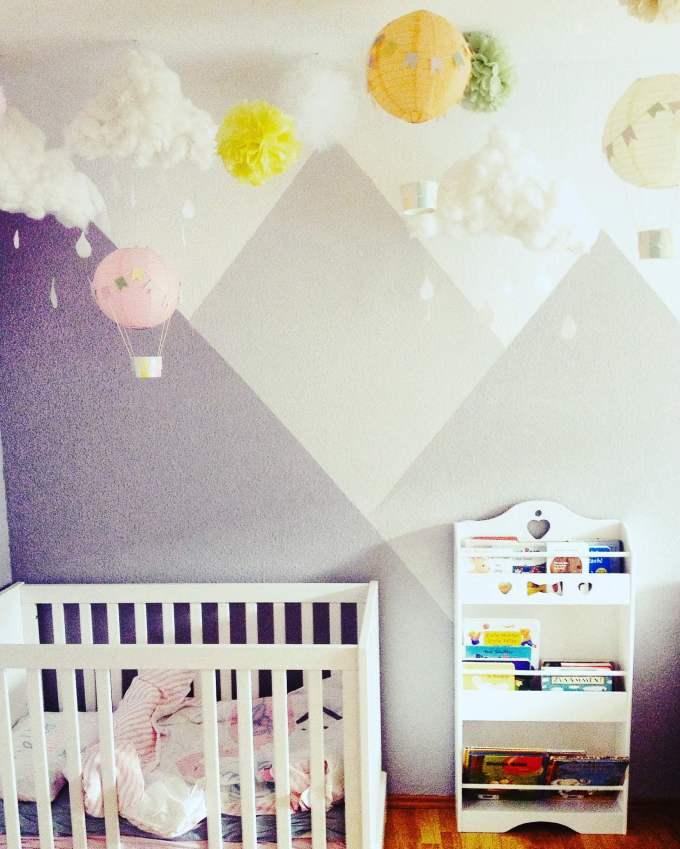 Wattewolken für das Kinderzimmer basteln ° DIY Anleitung – HAMMAmama