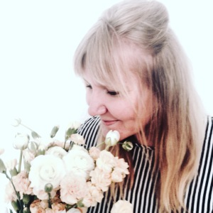 Ein Bild von mir mit Blumen