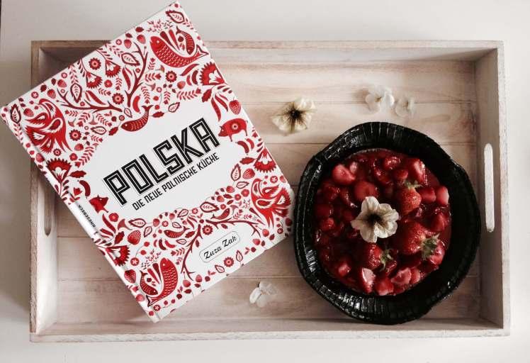 Polnisches Kochbuch ° Polska ° Zuza Zak ° Erdbeertorte ° Foodfotografie