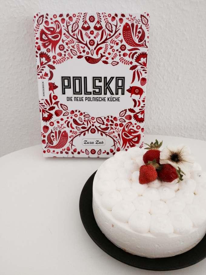 Polnisches Kochbuch ° Polska ° Zuza Zak ° Käsesahnetorte ° Foodfotografie