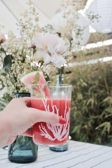 DIY: Schnelles Sommer Rezept: Wassermelonen-Minz-Limonade