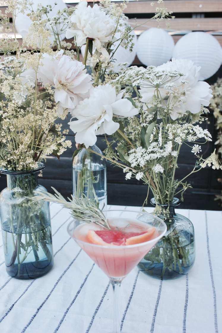 DIY: Schnelles Sommer Rezept: Gin-Cocktail mit Grapefruit und Rosmarin