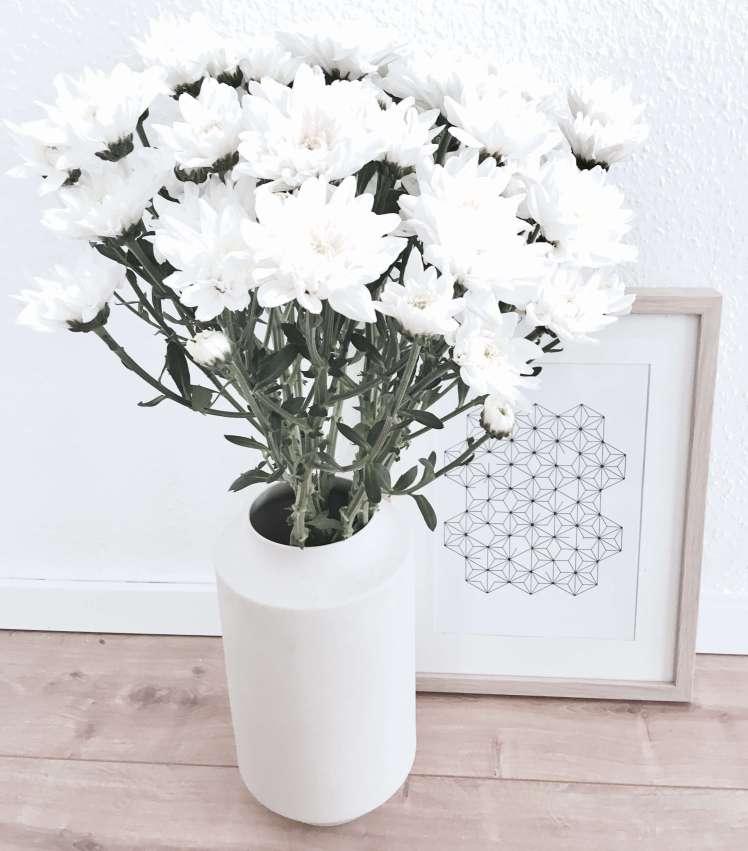 DIY Blumendeko Astern