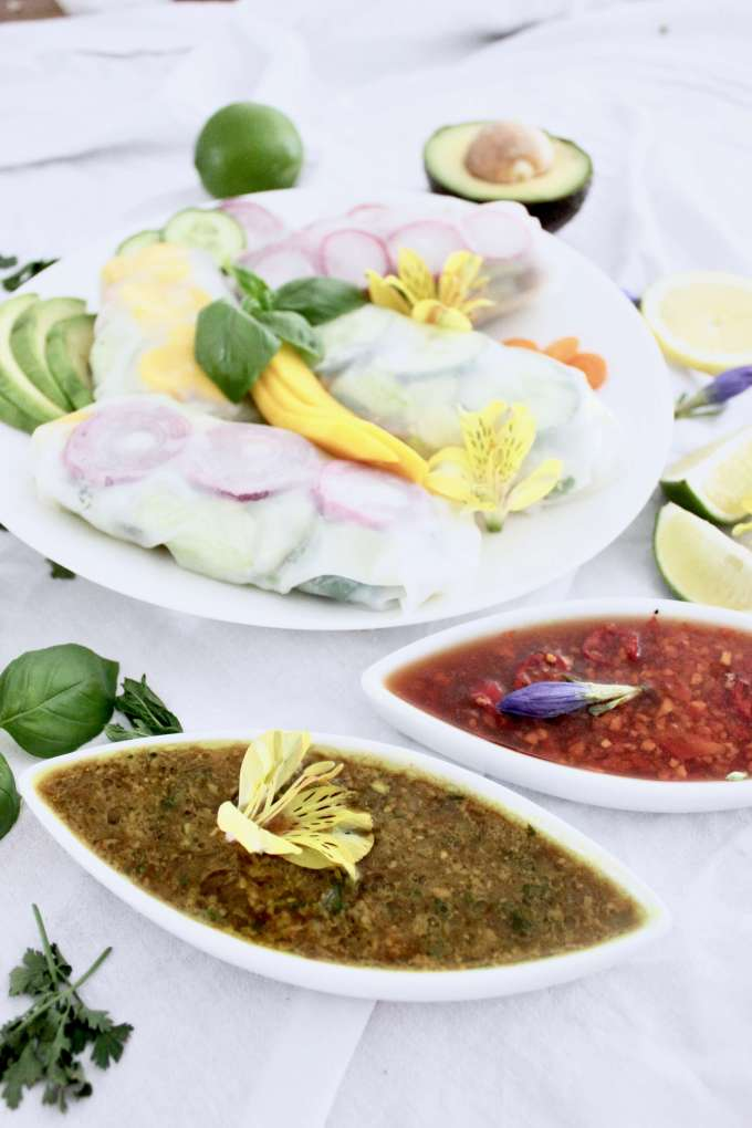 DIY-Rezept: Vietnamesische Sommerrollen mit zweierlei Dips selbermachen