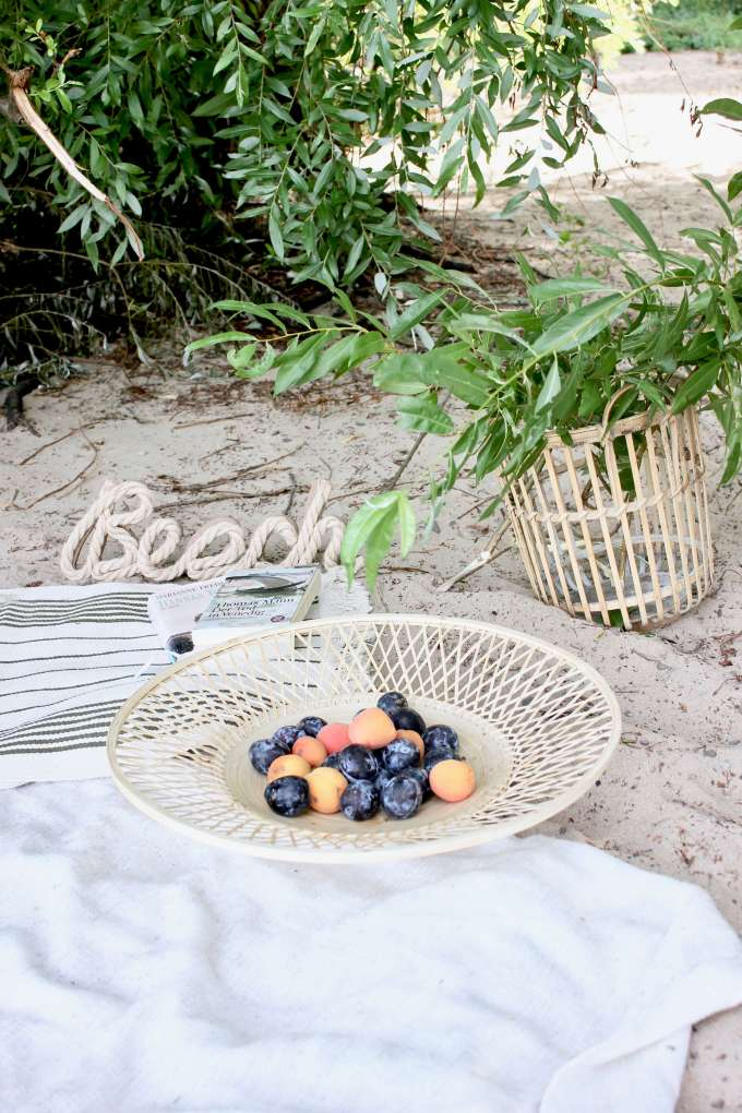 Deko-Inspiration für ein Strand-Picknick