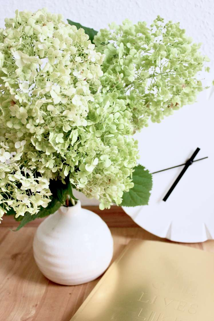 DIY aus Blumen: Blumenstrauß aus Hortensien
