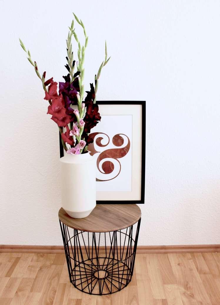 DIY-Blumenstrauß für den Herbst aus Gladiolen