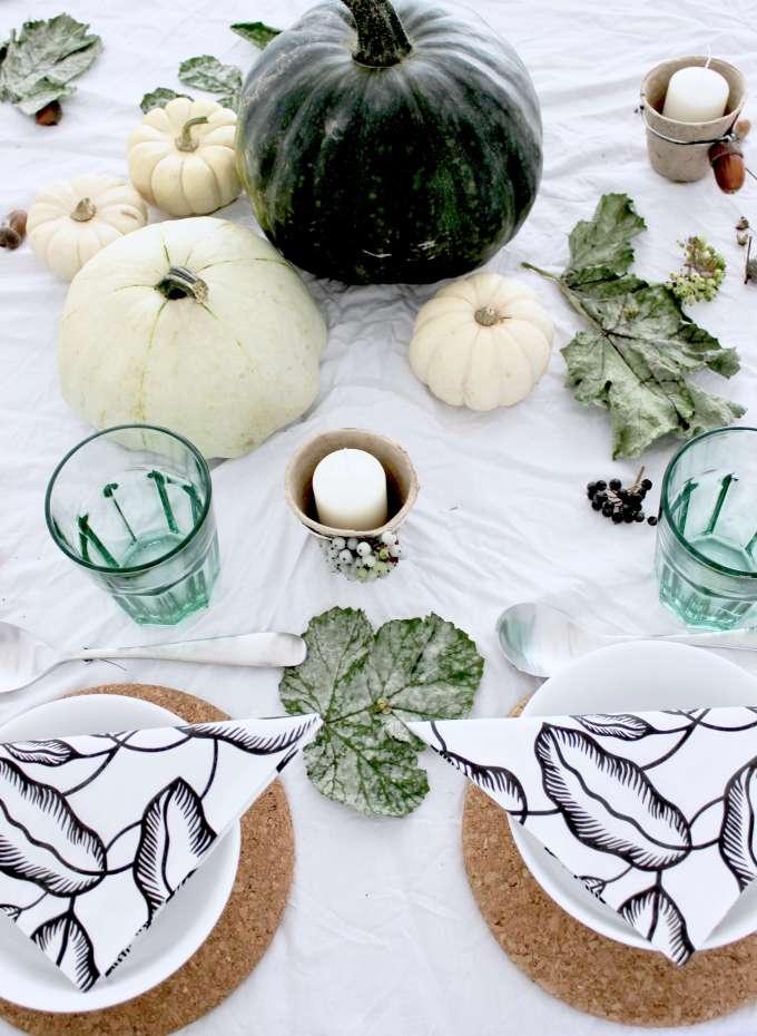 Herbst Diy Inspiration 5 Tipps Für Eine Moderne Tischdeko Mit
