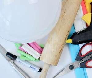 Einhorn-DIY-Geschenk-Idee: Ikea Fado Hack: Einhorn Lampe basteln