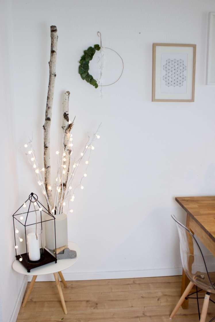 her mit der deko es weihnachtet sehr weihnachtskranz. Black Bedroom Furniture Sets. Home Design Ideas