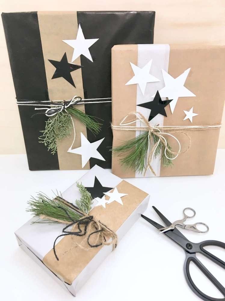 diy dekoration so kannst du geschenke f r weihnachten besonders sch n verpacken hammamama. Black Bedroom Furniture Sets. Home Design Ideas