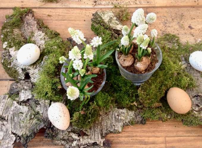 Diy Fur Den Fruhling Und Fur Ostern Tisch Dekoration Aus Der Natur