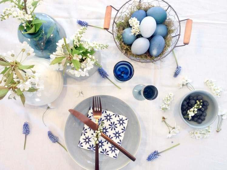 Diy Ostereier Naturlich Farben Mit Rotkohl Plus Tischdeko