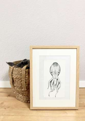 Bilder für das Wohnzimmer als Skandinavisch-Dekoration selber machen: Ideen für coole Motive mit Holz und Schwarzweiss