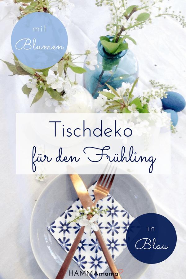 DIY Ostereier natürlich färben mit Rotkohl und Tischdeko für den Frühling mit Blumen_1