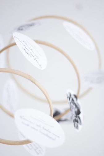 DIY Stickrahmen-Mobile als Muttertagsgeschenk selber machen mit Gutscheinen zum Ausdrucken
