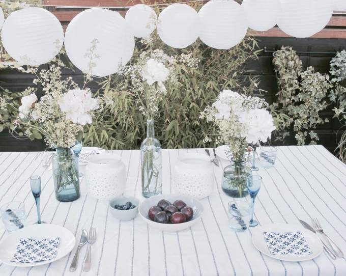 Deko-Ideen für deine Sommer Party im Garten