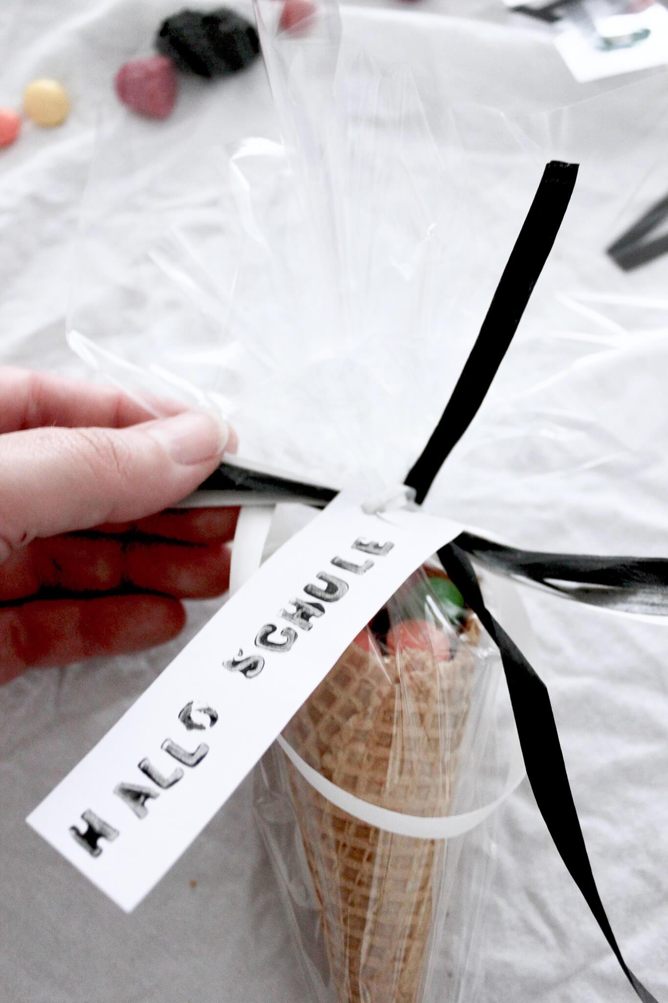 Geschenk-Ideen zur Einschulung zum Basteln und schön