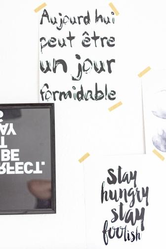 Arbeiten im Homeoffice: Kleines Arbeitszimmer skandinavisch einrichten: Ideen für Schreibtisch und Wandgestaltung