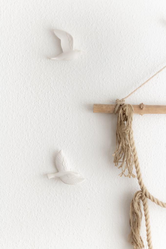 DIY Wanddeko selber machen_Einfaches Makramee Wall Hanging